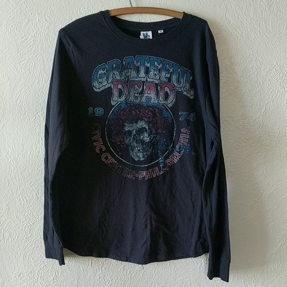 82a084ae Junk Food Clothing Tops | Longsleeve Grateful Dead Band Graphic Tee ...